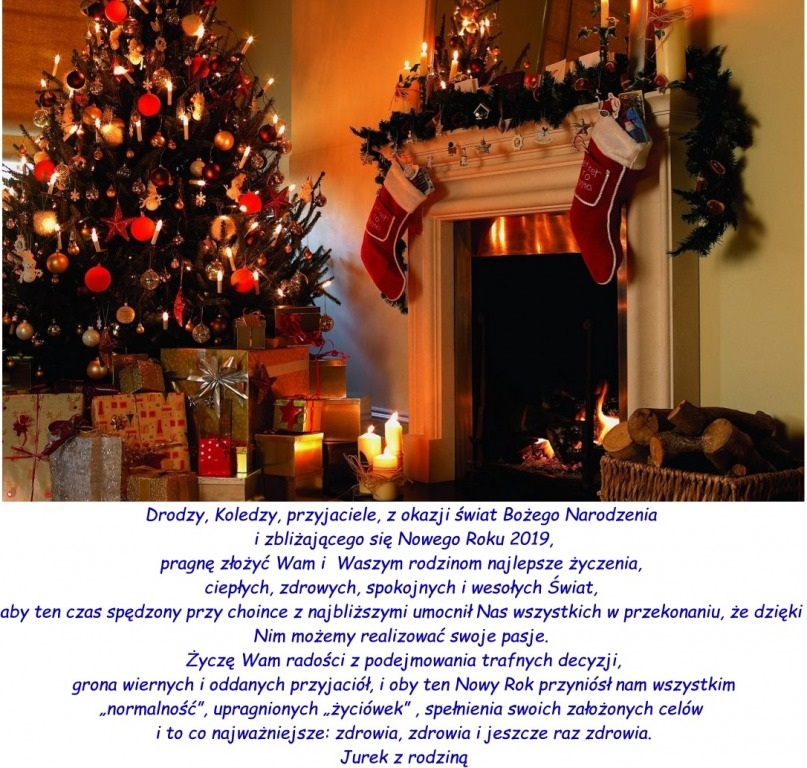 życzenia Bożego Narodzenia I Szczęśliwego Nowego Roku 2019