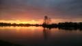 zachód słońca na Całowaniu