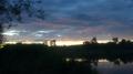 Zbiornik Krynice przed burzą
