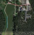Łowisko Cesarka - parking